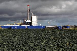 The Cuadrilla shale fracking facility in Preston, Lancashire.
