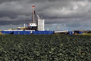 The Cuadrilla shale fracking facility in Preston, Lancashire.