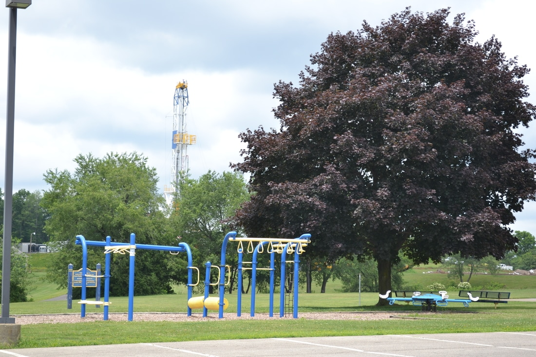 FRACKING in Pennsylvania, Butler County (Just North of Pittsburgh)