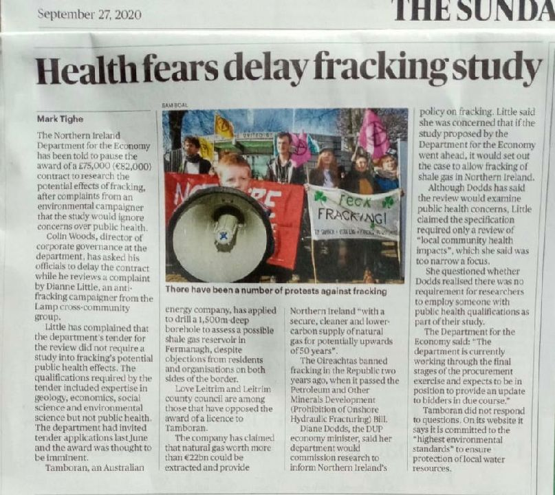 Health fears delay fracking study